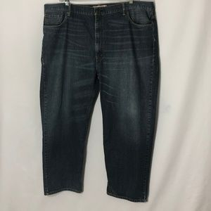 Levi's 550 relaxed fit classic 5 pocket blue jeans
